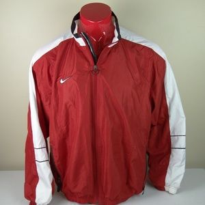 Vintage 90s Team Nike Windbreaker Full Zip Jacket